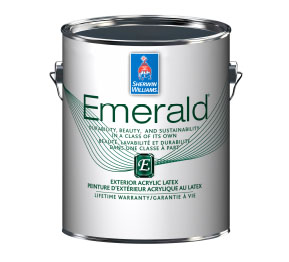 Emerald® Exterior Acrylic Latex Paint Canada