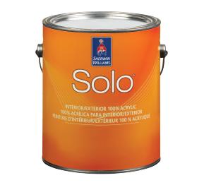 SoloTM 100% Acrylic Interior-Exterior Latex