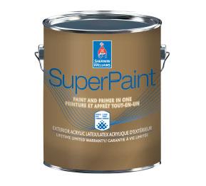 SuperPaint Exterior Acrylic Latex - Canada